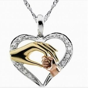 Jewelry - Mother and Child Heart Necklace